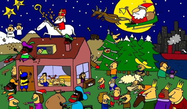 Decemberzoekplaat