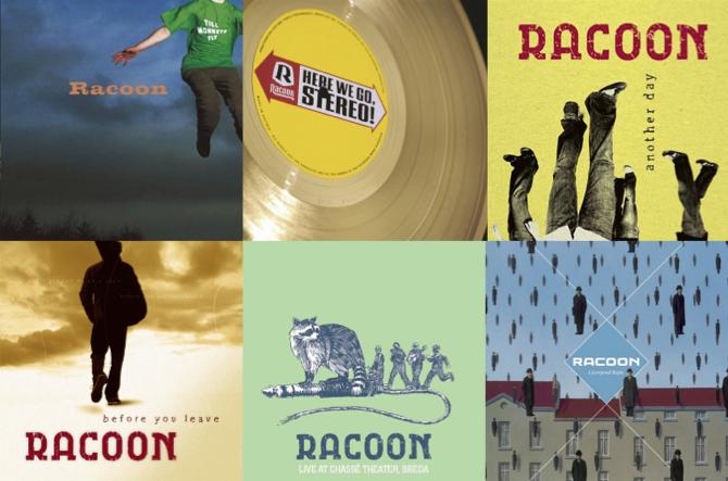 Racoon album covers